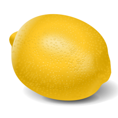 The Lemon behind the sofa logo